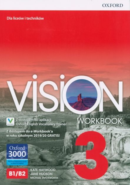 Vision 3 Workbook + e-Workbook + Vocabulary Trainer